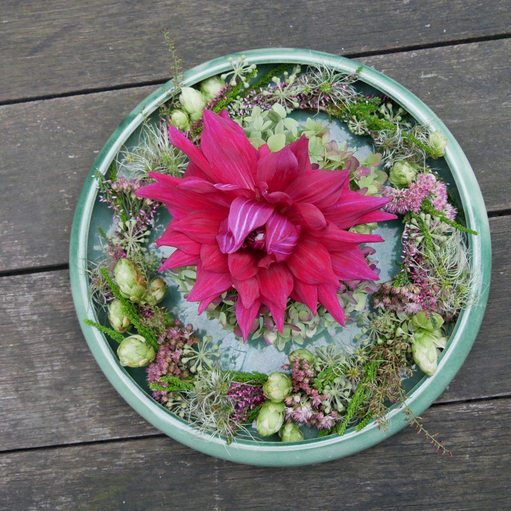 2.10.20 Blumen Workshop Herbstvielfalt