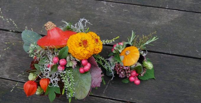 """Blumen Workshop – """"Herbstvielfalt"""""""